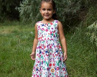 Multi-Color Floral Dress