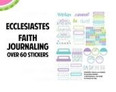 Ecclesiastes - Faith Bible Journaling Mini Kit   Ecclesiastes   60+ piece Pre-Cut   Faith Journaling   PLL-F001