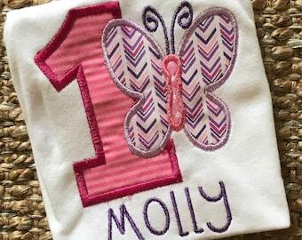 Butterfly Birthday Shirt