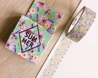 Cute washi tape - 'endless summer' | Cute Stationery