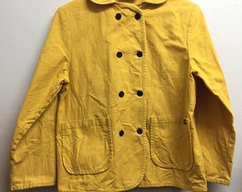 Vintage Made In France LE GLAZIK denim jacket size 34