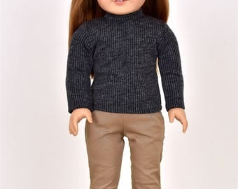 Turtle Neck Top  18 inch doll clothes