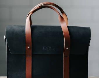 Leather Briefcase Men, Leather Messenger Bag, Men's Briefcase, Laptop Briefcase, Messenger Bag, Laptop Bag, Women bag