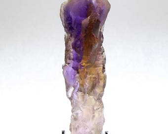 "Ametrine Crystal Citrine & Amethyst w/ Record Keepers ""A +++ Museum Quality"""