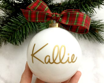 Personalized Ornament, Christmas Ornament