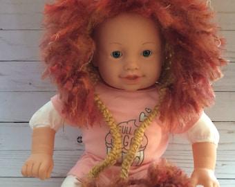 Newborn Lion Hat, Crochet Lion Hat, Newborn Halloween Costume, Baby Lion, Newborn Photo Prop, Baby photo prop,Lion Hat, lion Bonnet