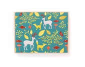 Forest Animals card, Blan...