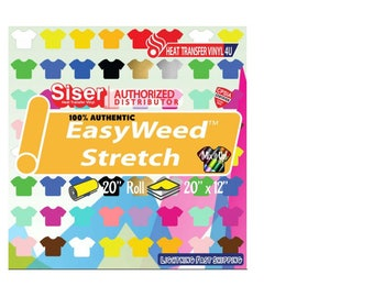"Siser Easyweed Stretch  20"" (19.66"" ACTUAL SIZE)"