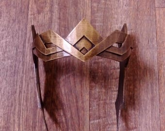 Wonder Woman Hippolyta Crown, 3D Printed