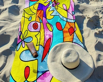 "Beach Towel ""Imagicolor"" 30"" x 60"""