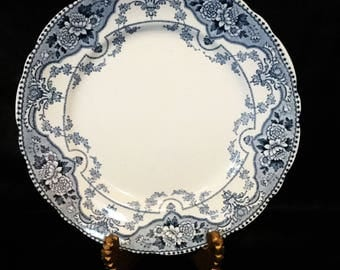 A great English, transferware  side or cake plate by ford & sons