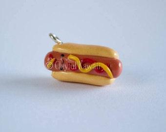 Polymer Clay Hotdog