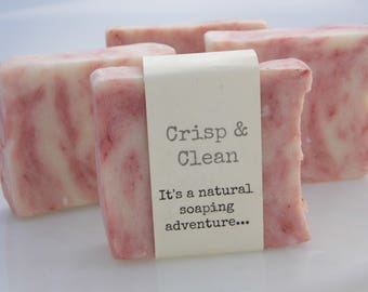 Handmade Soap with a  Crisp and Clean scent