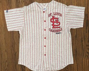 Vintage 90s Deadstock St. Louis Cardinals Baseball Jersey MLB Size XL * Made In USA