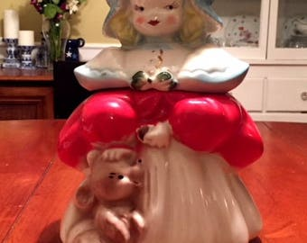Vintage Goldilocks Cookie Jar