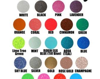Glitter Adhesive Vinyl, Glitter Vinyl, Glitter Sheets, Craft Vinyl, DIY Vinyl