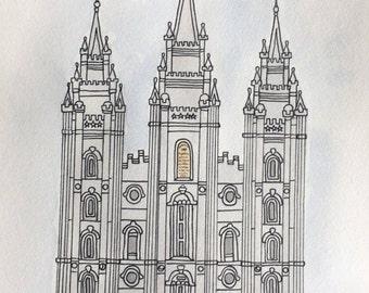 Salt Lake City LDS Temple