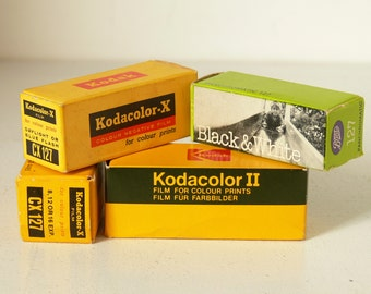 Unused 127 Film - Kodak & Boots - Colour Or Black and White Available - Foiled Packed With Original Boxes