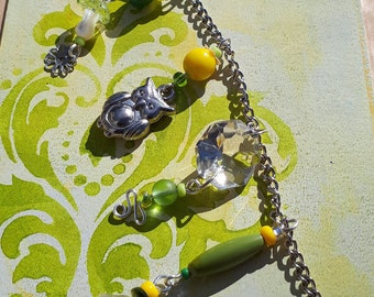 Lemon Lime Fairy Garland – Fairy Garden Accessory BB-13