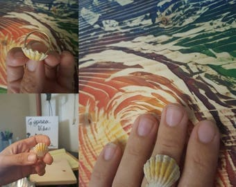 Hawaiian Sunrise Shells Rings - *Custom* / Gold Rings / Sunrise Shell