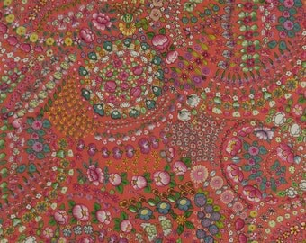 """Apparel Fabric, Sewing Accessories, Floral Print, Designer Fabric, Handcrafted, 44"""" Inch Cotton Fabric By The Yard ZBC6848A"""