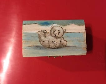 Polar Bear Treasure Box