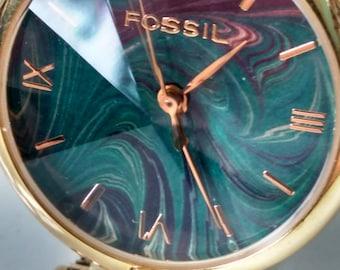 Vintage Fossil Prism Watch