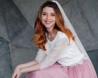CHAPEL | Veil, wedding veil, chapel veil, long veil, bridal veil, ivory veil, veil wedding