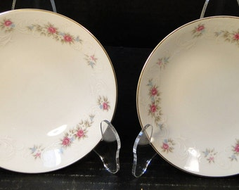 "TWO MT Hira Rose Wreath Berry Fruit Bowls 5 1/2"" 6121 2 EXCELLENT!"