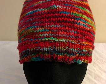 Handmade Knit Merino Wool Winter Toque