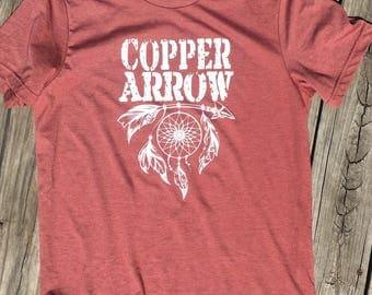 Copper Arrow Tee