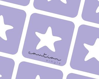 Starfish Nail Vinyl - Nail Stencil for Nail Art