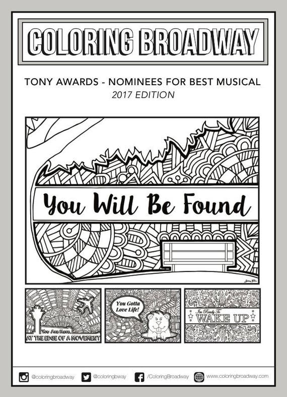 coloring pages broadway musicals - photo#9