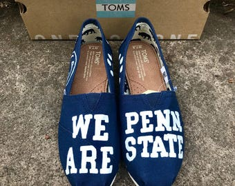 Penn State TOMs Hand Painted