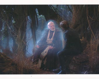 Matted Star Wars Obi Wan Kenobi & Luke Skywalker Still-Frame Print
