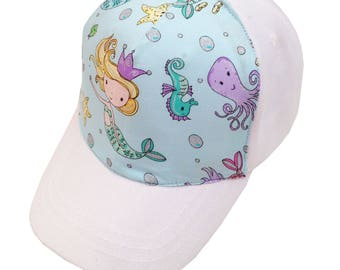 Mermaids Ball Cap/Toddler Size