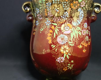 Crown Devon Fieldings Tumbling Flowers Vase