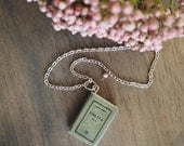 Lolita Book Charm Necklace
