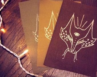 Cat//Fox Head Patch