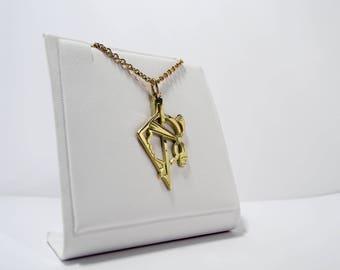 Corsica 750 gold pendant