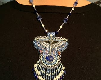 """inspired pendant necklace """"Isis"""""""