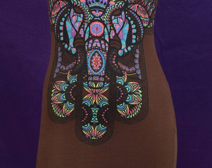 Protection of Hamsa T-shirt Dress
