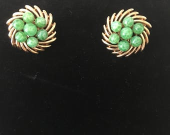 Vintage signed Trifari earrings