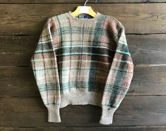 Vintage 90s Polo by Ralph Lauren Wool Pullover
