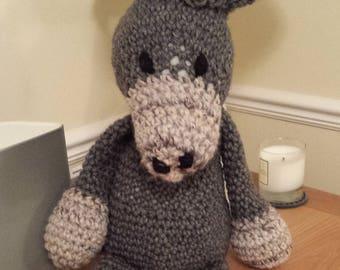 Amigurumi Cuddly Donkey