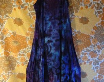 Psychedellic Tie Dye Dress