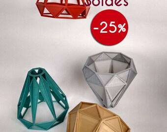 Sale! Diamond Lampshade for IKEA HEMMA pattern