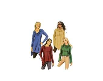 2000 Sewing Pattern - Butterick 5679 - Knit Tunic Top