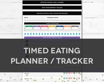 Timed Eating Planner & Tracker
