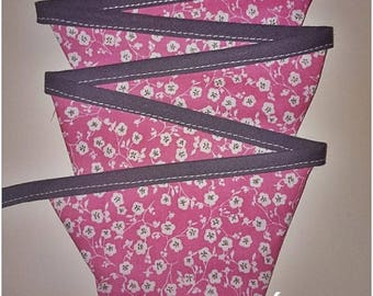 Fabric Bunting, 8 flags